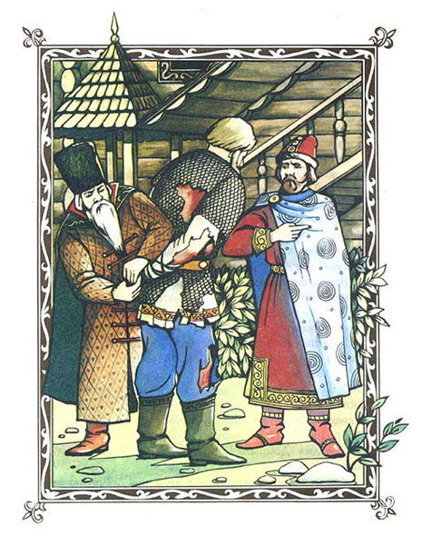 Book-Illustration-Russian-Folk-Fables Web Design, Graphic Art
