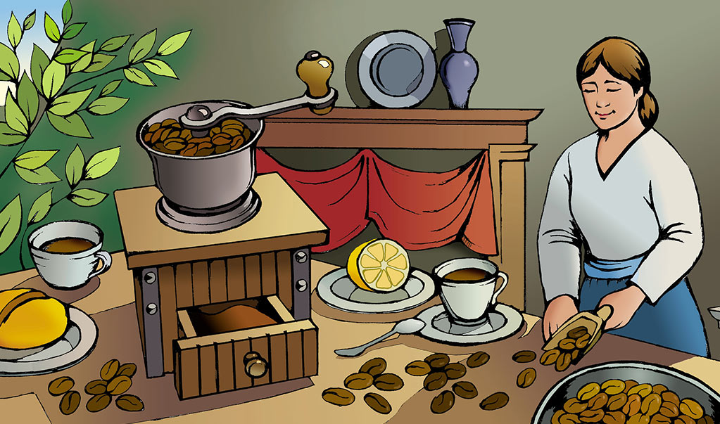 Murals-Illustration-Just-Fresh-Cafe Web Design, Graphic Art