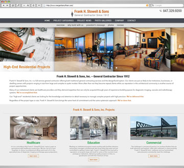 Frank H. Stowell & Sons Website