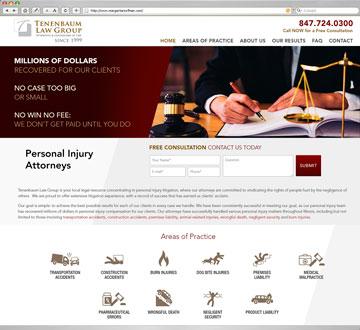 InjuredLegalhHelp.com Website