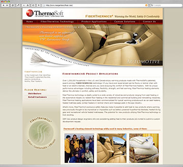 Thermosoft International Coporate Website
