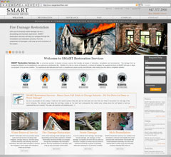 SMART Restoration Services, Inc. Website Design